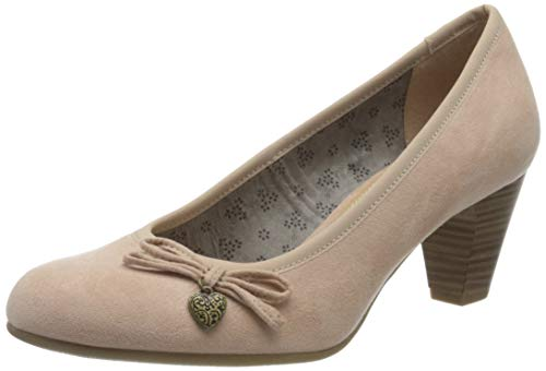 s.Oliver Damen 5-5-22470-34 Pumps, Pink (Rose 544), 39
