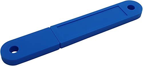 USBfix - USB-Stick zum Abheften V2 USB2.0 32GB TypA Flach Blau 3er-Pack