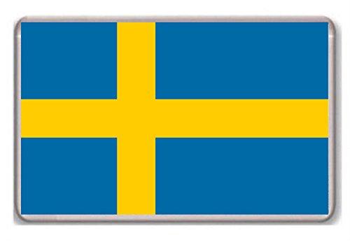 Kühlschrankmagnet Flagge Schweden