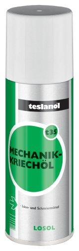Teslanol 26030 Mechanik-Kriechöl löst verharzte Altschmierstoffe wie Öle und Fette - 200 ml