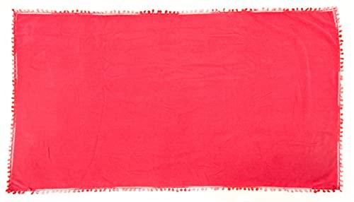 1stAmerican Toalla de playa de rizo hidrófila de 90 x 170 cm, 100 % algodón.