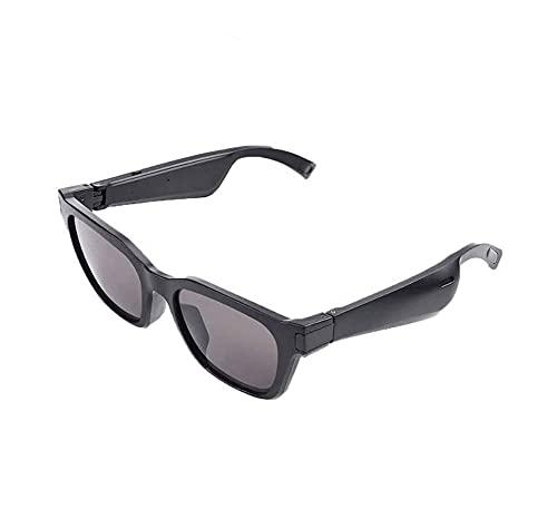 ZOUSHUAIDEDIAN Inalámbricas Bluetooth Audio Gafas de Sol, Abierto Auriculares internos de música y Llamadas con Manos Libres, for los Hombres y de Las Mujeres, Las Lentes polarizadas Gafas