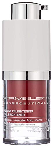 DERMELECT COSMECEUTICALS Beautone Enlightening Facial Brightener Serum - Overnight Treatment That Targets Uneven Skin Tone, Hyperpigmentation, Skin Discoloration & Age Spots (0.5 Ounce / 14.8 ml)