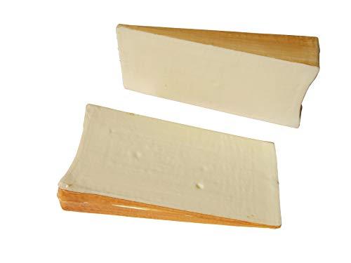 ERRO Fontina 10334 - Juego de 2 figuras falsas de queso falsas, diseño de queso