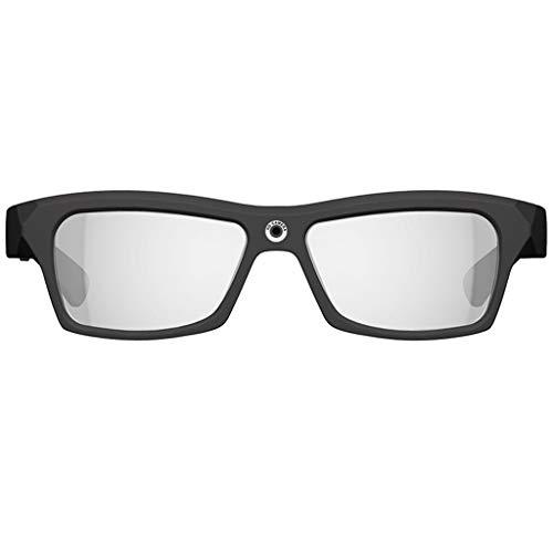 Smart glasses Las Gafas con cámara HD 1080P Pueden Tomar Fotos con un botón, Realizar sincronización de Audio y Video, grabadora de conducción Adecuada para Conducir, Deportes al Aire Libre