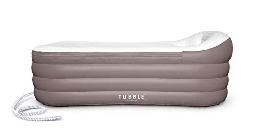 Inflatable Bathtub, Tubble ® Royale, Adult Size Portable Home Spa tub, Comfortable Bath, Quality Tub - 60 Gallons