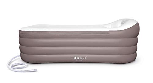 Tubble® Royale, Inflatable Bathtub, Adult Size Portable Bathtub, Home Spa Tub, Comfortable Bath, Quality Tub – 60 Gallons