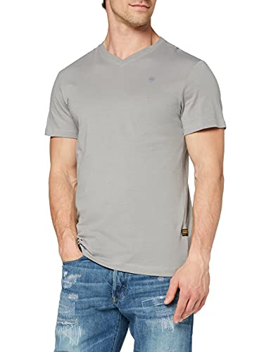 G-STAR RAW Mens Base-S T-Shirt, Charcoal 336-942, M