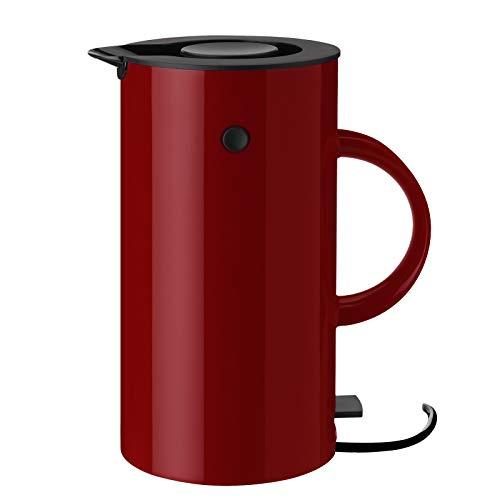 Stelton - EM77 Wasserkocher - Kunststoff - warm Marroon/rot - 1,5 l - EU