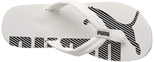 Puma Puma Unisex-Erwachsene Epic Flip V2 Dusch- und Badeschuhe, Weiß (white-black), 46 EU