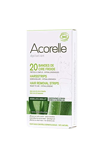 Acorelle Hair Removal Strips for Bikini & Underarms - NEW