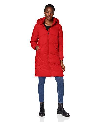 Vero Moda VMUPSALA Long Jacket GA Manteau, Goji Berry, XS Femme