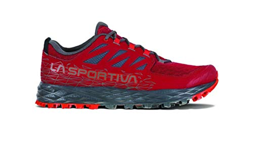 La Sportiva Men's Lycan II Trail Running Shoe - Color: Chili/Poppy (Regular Width) - Size:...