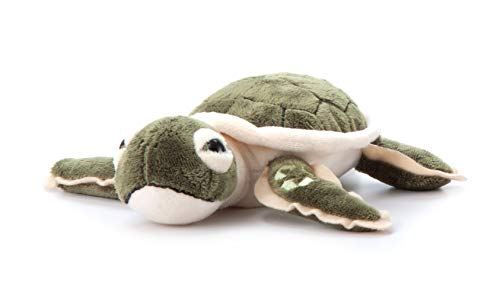 The Petting Zoo, Hatchling Sea Turtle Stuffed Animal, Gifts for Kids, Baby Sea Turtle Plush Toy 9 inches