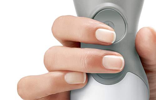 Bosch Elettrodomestici ErgomMixx Mixer a Immersione, Frullatore, 600 W, 70 Decibel, Plastica, 12 velocità, Bianco
