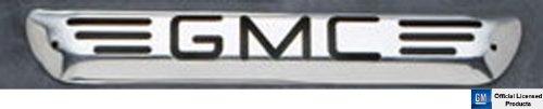 All Sales 95005P Polished Billet Aluminum Third Brake Light Cover - GMC Logo
