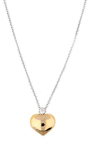 Esprit Jewels Damen-Halskette 925 Sterling Silber Shades of Love Rose app.42+3cm ESNL92721B420