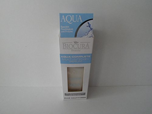 BIOCURA Beauty Aqua-Complete Multi-Intensiv SERUM mit Gletscherwasser und Aloe Vera 50 ml