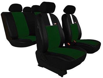 Housse de siège de voiture universelles GT8 (ECO-CUIR + ALKANTARA), Gris clair