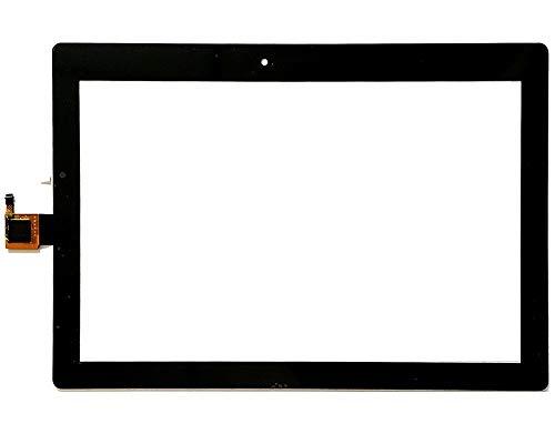 Monitor de Pantalla Plana Pantalla táctil digitalizador de reemplazo de Vidrio/Ajuste for Lenovo Tab 2 A10-30 (Color : White)