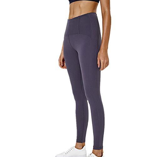 ZGRNPA Yoga Hosen Damen-hohe Taillen Yoga Leggings mit Tasche Trainings Strumpfhosen für Laufen Fitness Damen Yoga Hosen Plus Größe Mittlere Taille Power Stretch Laufhose für Fitnesstraining