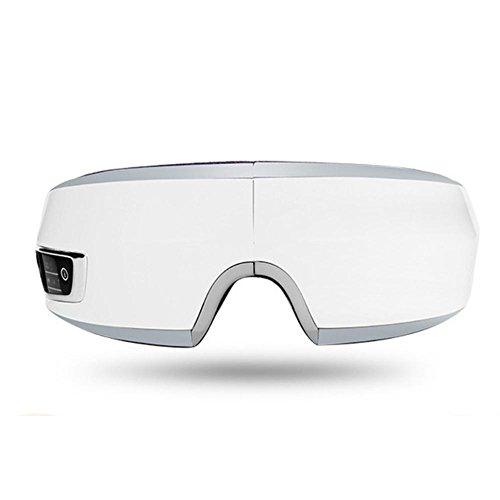 LPY-Eye Massager Glasses, Terapia de calor Carga inalambrica Doblez Música Cuidado de ojos