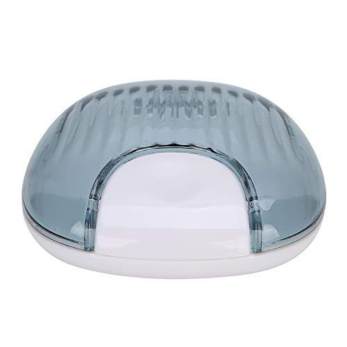 Estuche retenedor, Estuche protector bucal Estuche retenedor de ortodoncia Boquilla portátil a prueba de agua Caja de la dentadura Contenedor Contenedor de la dentadura(3)