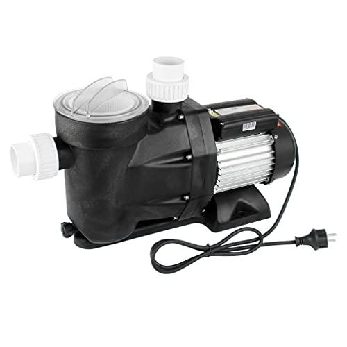 Forever Speed Bomba de filtro para piscina, bomba de circulación, 28800 l/h, 1300 W