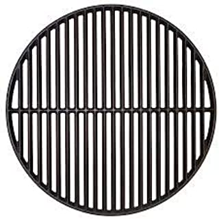 Premium Products LLC 18 Inch Cast Iron Cooking Grate for Big Green Egg & Kamado Joe Style Grills & Smokers