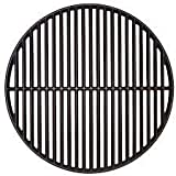 Premium Products LLC 18 Inch Cast Iron Cooking Grill Grate for Big Green Egg & Kamado Joe Style Grills & Smokers - Grill Grates Replacement - Duel Sided!