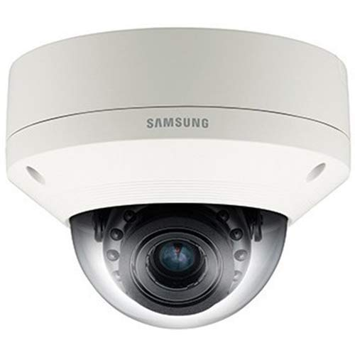 Hanwha Techwin SNV-6084R 2 MP 1080p Full HD Vandal-Resistant Network IR Dome Camera with 3-8.5mm (2.8X) Motorized Varifocal P-Iris Lens