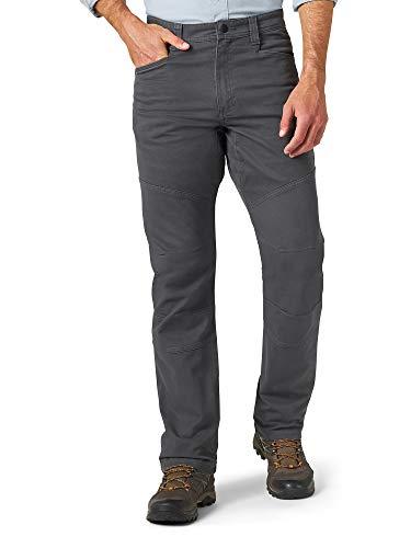 ATG by Wrangler Men's Reinforced Utility Pant, Gray, 34W x 32L