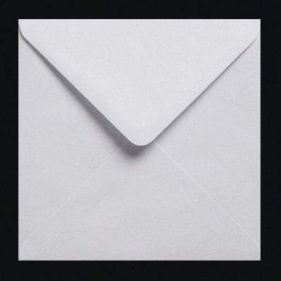 500Weiß 100gms quadratische Gummierung, Briefumschläge 155mm x 155mm (15,2x 15,2cm)