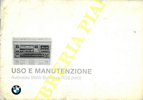 BMW : Uso e manutenzione. Monitor di bordo, radiotelefono, autoradio Business CD, ecc.