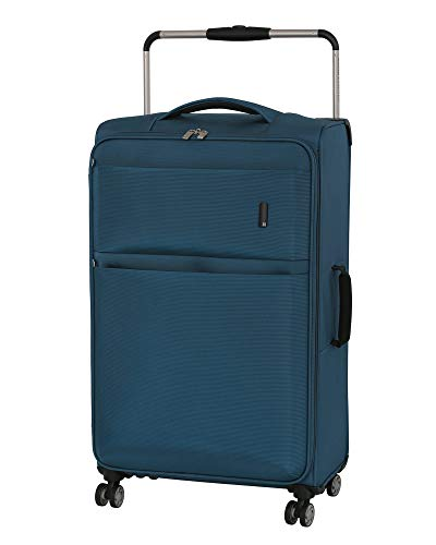 it luggage World's Lightest Debonair 31.5' 8-Wheel Spinner, Two Tone Blue
