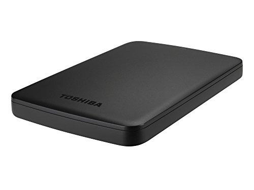 Toshiba Canvio Basics - Hard Disk Esterno USB-C 2 TB, Micro USB B 3.2, Colore: Nero