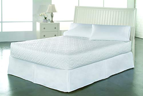 Bedsack by Perfect Fit   Classic Quilted Mattress Pad, Hypoallergenic & Stain Resistant (Twin XL)