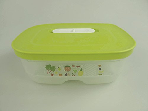 TUPPERWARE clima Oasis prima clima verde 800 ml nevera Smart Plus nevera plana