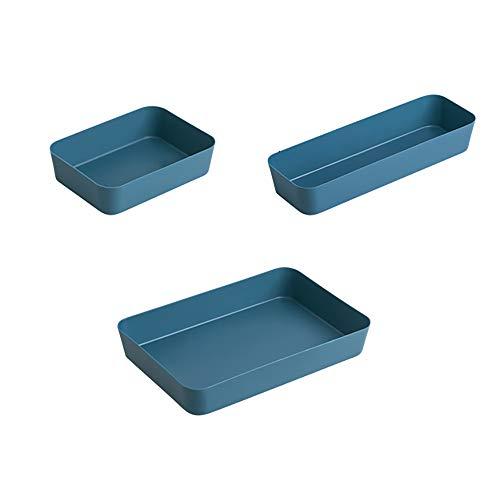 Omenluck 3 unidades organizadoras de almacenamiento Ikea caja de cajones armario para...
