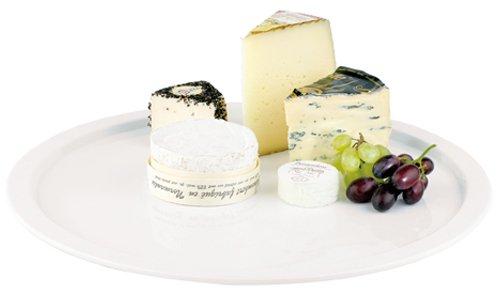 Aps Paderno World Cuisine Plateau rond en mélamine Blanc 38,1 cm