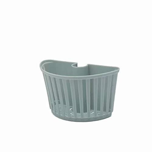 YKW Escombros Bastidor de Drenaje Fregadero plástico Colgante bastidores bastidores Estante Canasta Soporte Esponja Almacenamiento de Esponja Suministros de Cocina Rack de Grifo (Color : A)