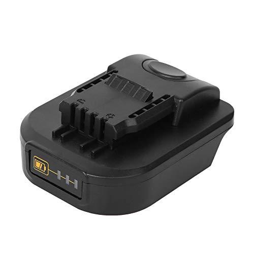 Adaptador de batería, conversión de 18 V para accesorios de herramientas eléctricas de 4 pines Worx de 20 V y alimenta rápidamente su herramienta inalámbrica sin disminuir ni drenar