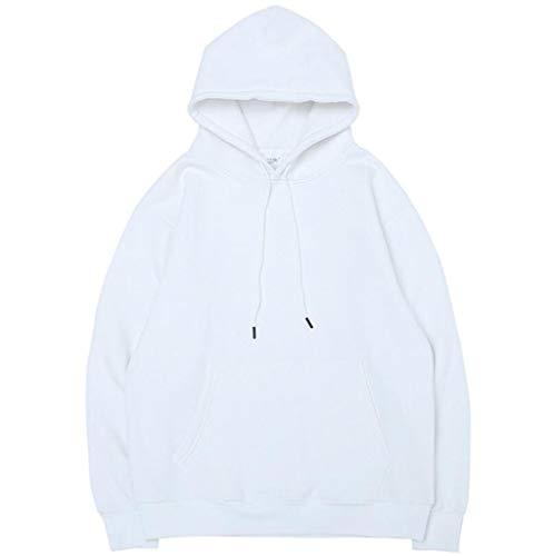 HFWJHH sweatshirt in Europa en de VS, herfst en winter, truien, voor mannen, effen basis, en truien van velours met koord