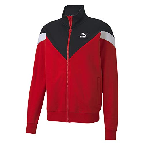 PUMA Herren Iconic MCS Track Jacket Ft Weste, rot (high Risk red), L