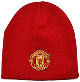 Manchester United FC - Red Beanie / Winter Hat, Ships from USA
