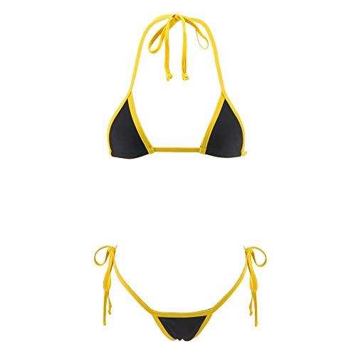 SHERRYLO Exotic Micro Bikini Set Sunbathing Swimming Costumes Trajes De Baño De Mujer