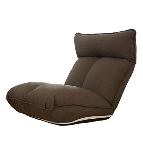 LSRRYD Klapstoel met verstelbare rugsteun, sofa, lounge, gevoerde stoelen, comfortabel, als speelstoel, meditatiestoel, camping, yoga