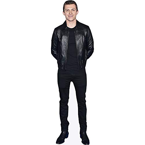 Celebrity Cutouts Tom Holland (Black Outfit) Pappaufsteller Mini