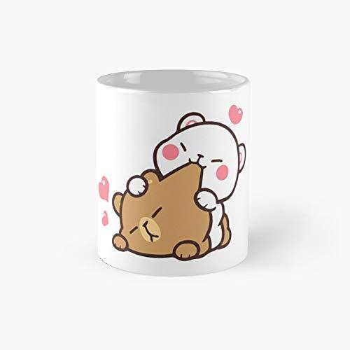 Lovely Milk And Mocha Bear Gift Christmas Classic Mug   Best Gift Funny Coffee Mugs 11 Oz