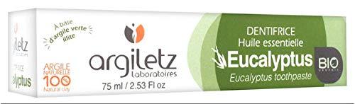 Argiletz Dentifrice à l'argile verte et à l'Eucalyptus 75ml